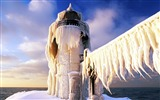 Title:snow-covered St Joseph lighthouse wallpaper Views:24978