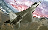 Title:F 22 Raptor-military aircraft-HD Wallpaper Views:12196