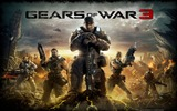 Title:Gears of War 3 official game wallpaper Views:11371