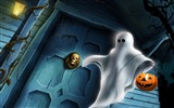 Title:Halloween Illustration Design Wallpaper Views:8492