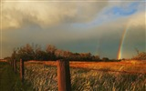 Title:Kansas-the rainbow after the storm wallpaper Views:5470
