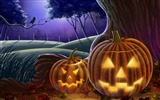 Title:On the outskirts of pumpkin-Halloween Illustration Design Wallpaper Views:5384