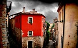 Title:Red House-Spain Girona city landscape Views:7900
