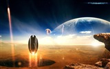 Title:Sci-Fi Space Art-Masterpieces Sci-Fi Digital Artworks Views:13103