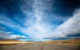 Title:Sky and Road-landscape wallpaper selection Views:13361