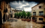 Title:Spain Banyoles-HDR Spanish urban landscape Views:13808