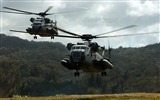 Title:Two CH 53D Sea Stallion s032 Helicopters-military aircraft-HD Wallpaper Views:7797