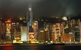 Title:Pearl of the Orient - Hong Kong landscape wallpaper Views:15835