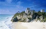 Title:Mayan Ruins Tulum Mexico-Travel in the world - photography wallpaper Views:5621
