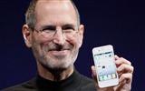 Title:Steve Paul Jobs and his Apple iphone4 Views:12030