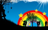Title:Colorful Life - Illustration Design Desktop Wallpaper Views:9411
