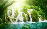 Title:beautiful waterfall-World most famous waterfall landscape wallpaper Views:18706