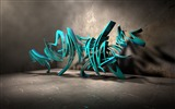 Title:3d graffiti background-Personalized Graffiti Art desktop picture Views:35414