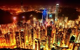 Title:City at night-The urban landscape photography Desktop Wallpapers Views:7747