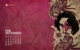 Title:Pink-November 2011-Calendar Desktop Wallpaper Views:4344