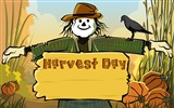 Title:Scarecrow Harvest festival-Thanksgiving day wallpaper illustration design Views:7937