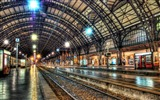 Title:inside a train station-Trains and Railway Series wallpaper Views:11716