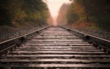 Title:railroad tracks-Trains and Railway Series wallpaper Views:15277