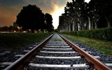 Title:railroad tracks -Trains and Railway Series wallpaper Views:5092