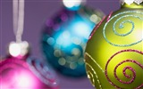 Title:Christmas decoration balls wallpaper color Views:6094