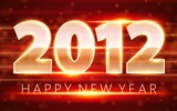 Title:Happy New Year-2012 Year theme desktop picture Views:8545