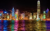 Title:a symphony of lights hong kong-the city landscape photography wallpaper Views:7352