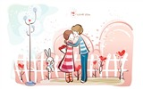 Title:Romantic Valentines Day Vector wallpaper album-second series Views:11258