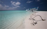 Title:maldivian air taxi-Island travel landscape photography Desktop Wallpapers Views:7252
