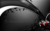 Title:Black Rainbow-March 2012 calendar desktop themes wallpaper Views:4933