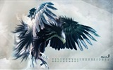 Title:Eagle HD-March 2012 calendar desktop themes wallpaper Views:10550