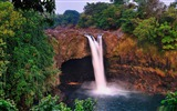 Title:Waterfall in the tropical rainforest-The worlds most beautiful waterfall landscape picture Views:20669