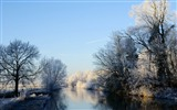 Title:crooked rhine river-winter snow theme wallpaper Views:4807