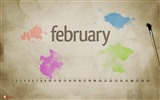 Title:february splashes-February 2012 calendar desktop themes wallpaper Views:4723