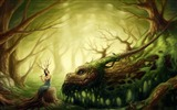 Title:forest creatures-World of fantasy art design HD wallpaper Views:37096