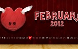 Title:heart on a string-February 2012 calendar desktop themes wallpaper Views:4147