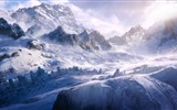 Title:mountain expedition-winter snow theme wallpaper Views:19863