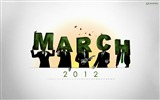 Title:March 2012 calendar desktop themes wallpaper-second series Views:5612