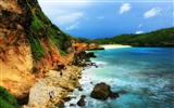 Title:Beautiful bays-The magnificent natural scenery wallpaper Views:6403