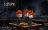 Title:THE TRIPLETS-Brave 2012 HD Movie Wallpaper Views:6688