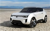 Title:White SsangYong XIV-2 Concept  HD Wallpaper Views:4499