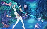 Title:anime fairies-Cartoon character design wallpaper Views:10678