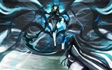 Title:black rock shooter dead master-Cartoon character design wallpaper Views:14288