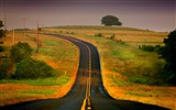 Title:curved road-The magnificent natural scenery wallpaper Views:8119