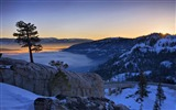 Title:donner lake in california-The magnificent natural scenery wallpaper Views:3933