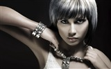 Title:girl with silver hair-Super beautiful photo wallpaper Views:6438