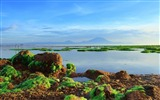 Title:good morning sanur-The magnificent natural scenery wallpaper Views:7089