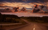 Title:long road-The magnificent natural scenery wallpaper Views:5322