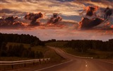 Title:Country Road-Nature Scenery Wallpaper Views:7536