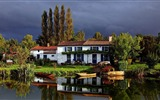Title:canal cottage-beautiful nature landscape wallpapers Views:3987