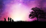 Title:Star childhood romantic background-Artistic creation design wallpaper Views:4813